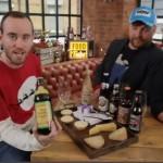 Die Craft Beer Boys probieren Schlenkerla Weizen zu Käse