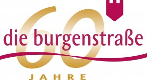 Logo 60 Jahre Burgenstraße