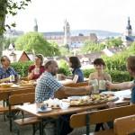 Auf dem Spezi-Keller in Bamberg