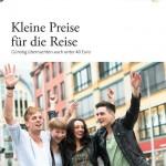 """""""Kleine Preise für die Reise"""" - Titel"""