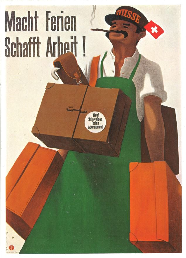 P. Gauchat, Plakat für die SVZ, 1940 (c) Photoglob, Zürich